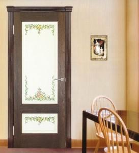 Двери шпонированные Болонья от Мебель Массив