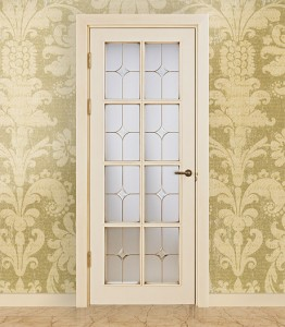 Двери шпонированные Классика «VETRO 8″ от Мастер-Вуд