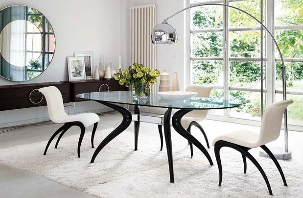 Столы и стулья в стиле модерн