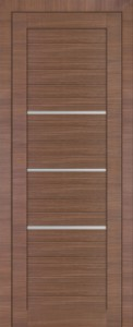 Двери экошпон 18Х Малага Черри Кроскут от Топ-Комплект