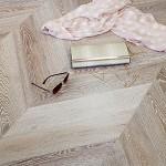 Модульный паркет Дуб Грей браш (франц. елка) от MARCO FERUTTI