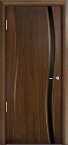 Двери шпонированные Омега ДОУ амер. орех от Milyana