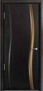 Двери шпонированные Омега ДОУ эбеновое дерево от Milyana