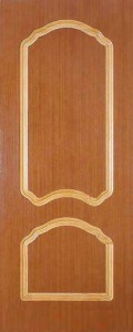 Двери по сниженным ценам Виктория V-1 ПГ Дуб светлый от Вист