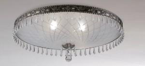 Светильники потолочные Потолочный светильник SOLE PL от  CRYSTAL LUX