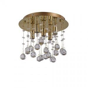 Освещение Светильник потолочный MOONLIGHT PL5 ORO от IDEAL-LUX