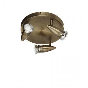 Освещение Светильник потолочный ALFA PL3 BRUNITO от IDEAL-LUX