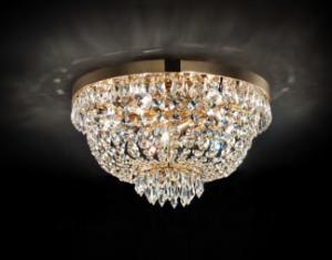Освещение Светильник потолочный CAESAR PL5 ORO от IDEAL-LUX
