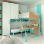 Детская мебель Композиция KS104 от MORETTI COMPACT