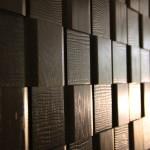 Стеновые панели 1006 ST дуб массив (плетенка с тиснением волна) от ESSE