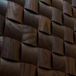 Стеновые панели 1009 ST ясень массив (термоясень темный) от ESSE