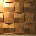 Стеновые панели 1005 ST дуб массив (квадраты сборные рыжие) от ESSE