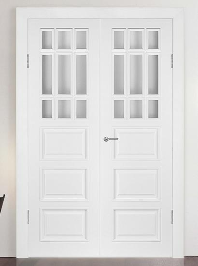 Двери шпонированные Бристоль (дверной блок) от RuLes