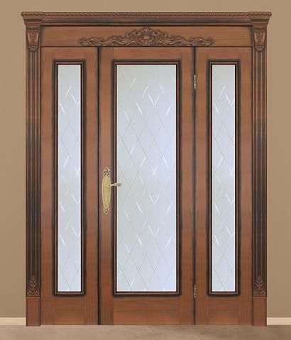 Двери шпонированные Сиэтл (дверной блок) от RuLes