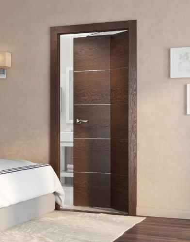 Двери шпонированные Дверь-книжка Twice от Мебель Массив