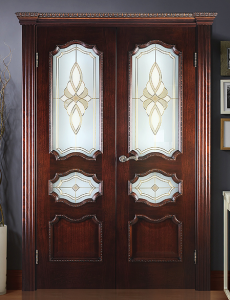 Двери шпонированные Венеция (дверной блок) от RuLes