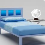 Детская мебель Кровать WL036-623 от MORETTI COMPACT