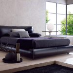 Кровати Кровать  Moon от BOLZAN