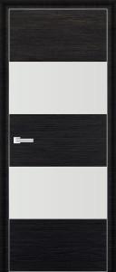 Двери экошпон 10D ЧЕРНЫЙ БРАШ от Топ-Комплект