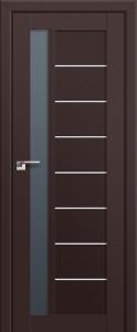 Двери экошпон 37U ТЕМНО-КОРИЧНЕВЫЙ от Топ-Комплект