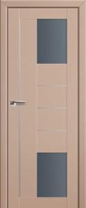 Двери экошпон 43U КАПУЧИНО САТИНАТ от Топ-Комплект