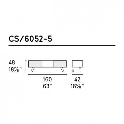 Буфеты, витрины Adam CS/6052 5 от Calligaris