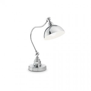 Освещение Настольная лампа AMSTERDAM TL1 BRUNITO, CROMO от IDEAL-LUX