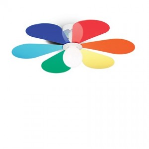 Освещение Светильник потолочный FLOWER PL1 D60 от IDEAL-LUX