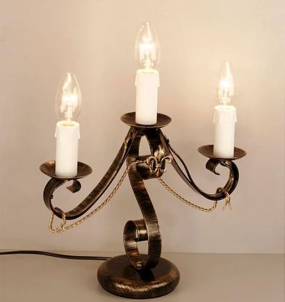 Освещение Настольная лампа Винтаж РН 1203/Ч от RS