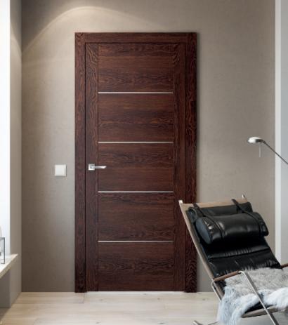 Двери шпонированные Line 11 от Мебель Массив