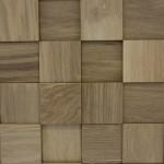 Стеновые панели 1026 квадратики пиксели дуб от ESSE