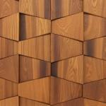 Стеновые панели 1028 термоясень (или дуб) бабочка от ESSE
