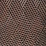Стеновые панели 1029 реечные ромбики от ESSE