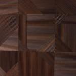 Стеновые панели Фрезерованные панели квадраты (фанера отдельно 10 мм) от ESSE