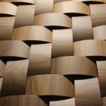 Стеновые панели 1022-1 орех массив (косички орех) от ESSE