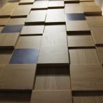 Стеновые панели 1026-1 дуб массив (квадратики пиксели дуб) от ESSE
