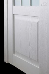 Двери шпонированные Амели (остекленное)новинка от Belwooddoors