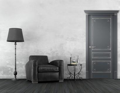 Двери шпонированные Эверли (полотно глухое) от Belwooddoors