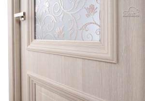 Двери шпонированные Франческо (остекленное) от Belwooddoors