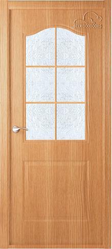 Двери экошпон Капричеза L (остекленное) от Belwooddoors