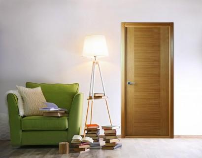 Двери шпонированные Классика Люкс (полотно глухое) от Belwooddoors
