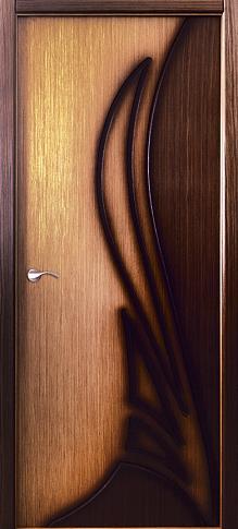 Двери шпонированные Корона (полотно глухое) от Belwooddoors