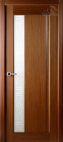 Двери шпонированные Ланда (остекленное) от Belwooddoors