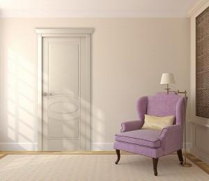 Двери шпонированные Лотбери (полотно глухое) от Belwooddoors
