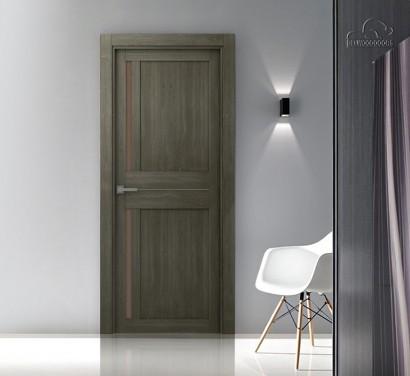 Двери шпонированные Мадрид 04 (остекленное) от Belwooddoors