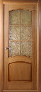 Двери шпонированные Наполеон (остекленное) от Belwooddoors