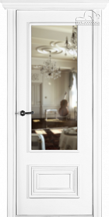 Двери шпонированные Палаццо 2 (остекленное) от Belwooddoors