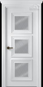 Двери шпонированные Палаццо 3 (остекленное) от Belwooddoors
