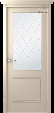 Двери шпонированные Селби (остекленное) от Belwooddoors